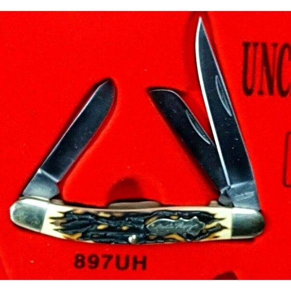 Uncle Henry hunter blade 897UH Junior Fold 121cb16